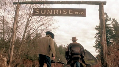 Sam and Dean arrive at Sunrise, WY.